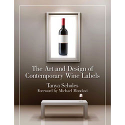 Wine label book