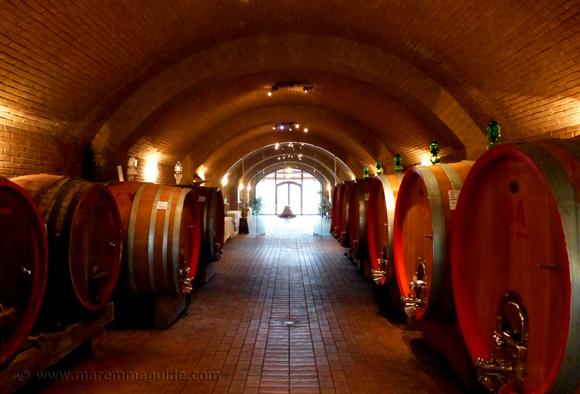 Wineries in Maremma Tuscany Italy: Podere Castellaccia, Grosseto