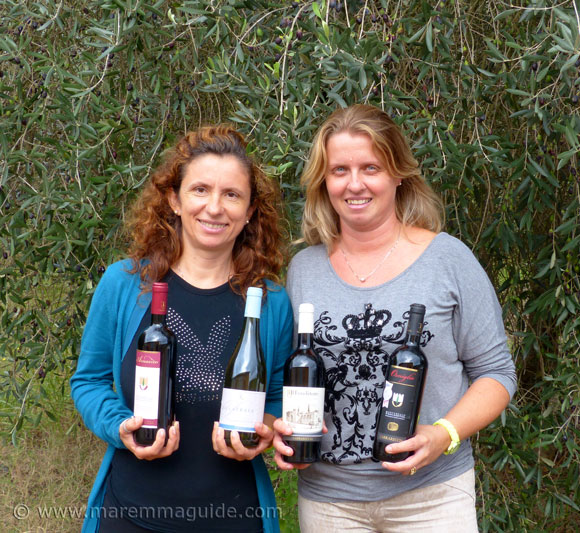 Women winemakers in Maremma: Carrareccia winery Tuscany