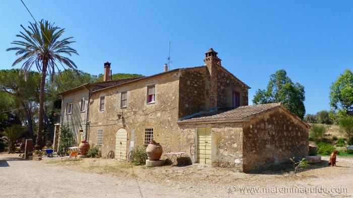 Talamone farmhouse Tenuta La Valentina Nuova
