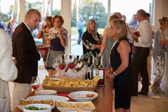 Amiata Piano Festival interval with ColleMassari wines.