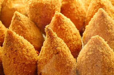 Food from Italy: arancini