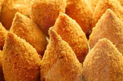 Italian food: arancini