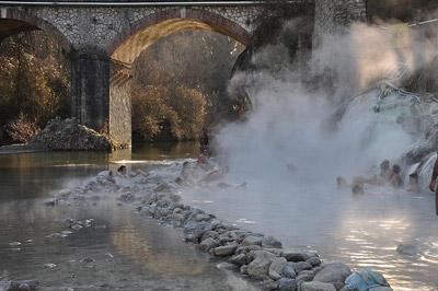 Bagni di Petriolo - the terme di petriolo bath spa in Italy