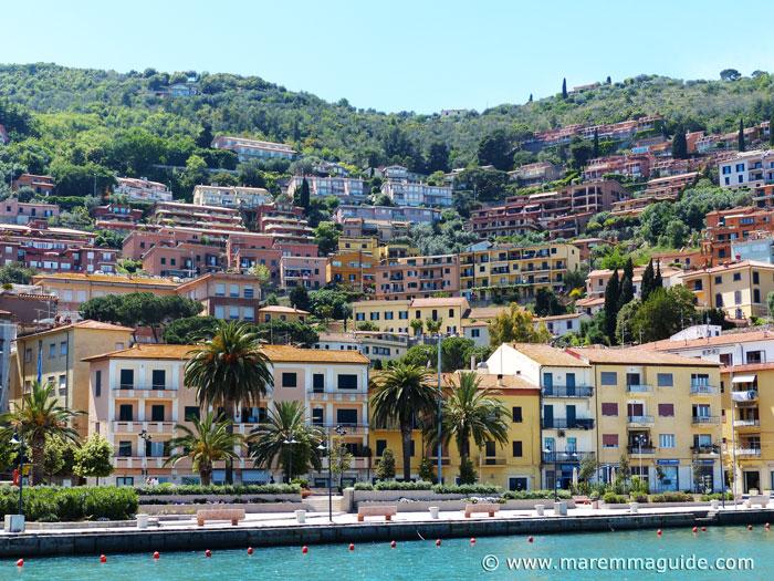 Best beach towns in Tuscany, Porto Santo Stefano Argentario Maremma Italy