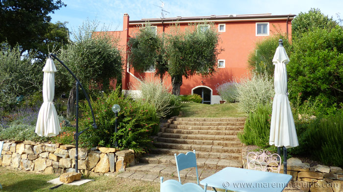 Bed and breakfast in Maremma.