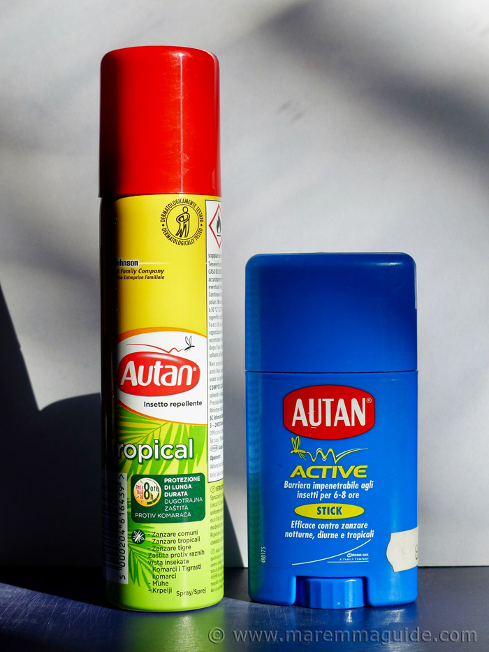 Best mosquito repellent for Italy.