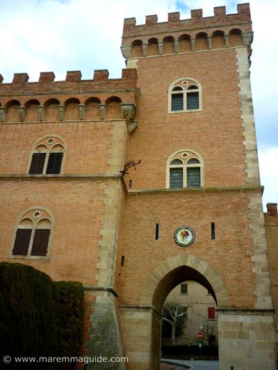 Bolgheri Italy in Maremma Tuscany