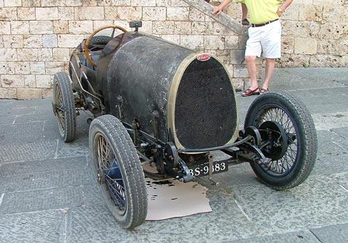 Bugatti Classic Cars in Maremma Tuscany Italy: 100th anniversary event