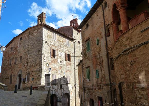 Campiglia Marittima Tuscany: Palazzo Pretorio