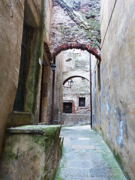 Capalbio Tuscany Via San Giovanni