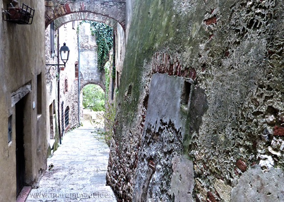 Via Mentana Capalbio Tuscany.