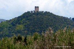 Castel di Cornia castle in Tuscany Maremma