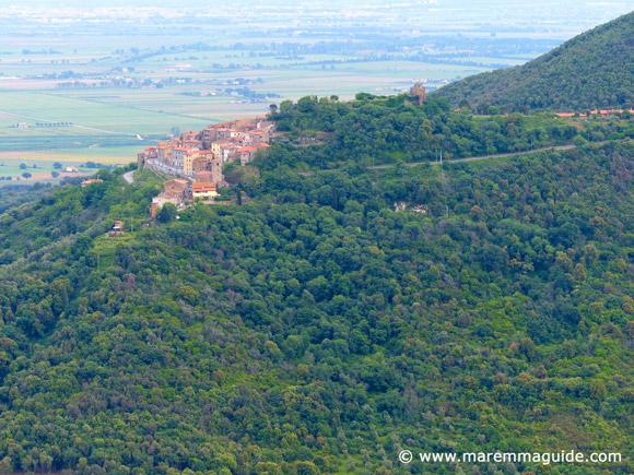 Castle of Buriano Tuscany