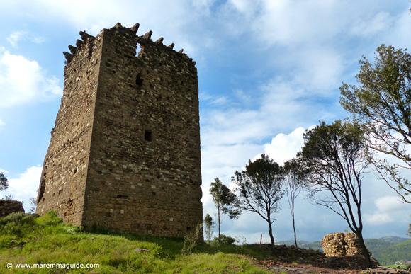 Castel di Cornia, Lustignano Maremma castles Tuscany