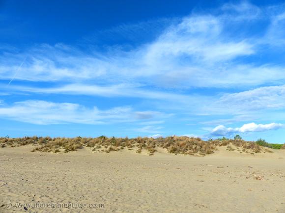Fiumara beach Tuscany in October