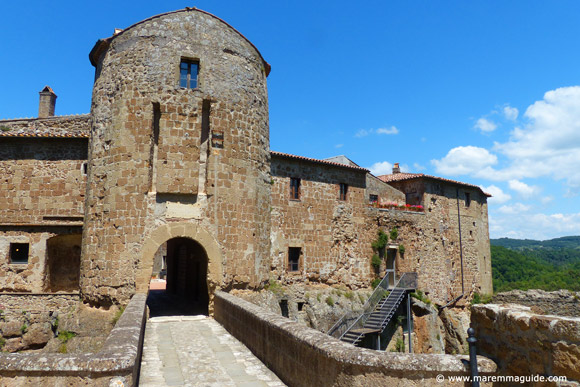Fortezza Orsini castle Sorano Italy