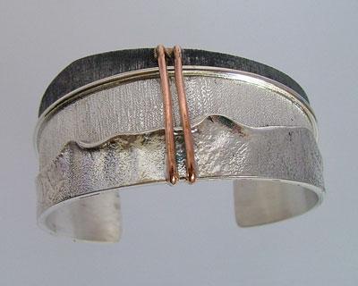 Handmade silver bracelets: unique silver jewellery from Maremma Italy