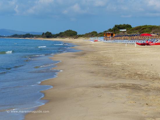 Il Pino beach - spiaggia - Parco Costireo della Sterpaia, Piombino Tuscany