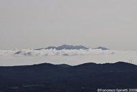 View of the Isola d'Elba from Massa Marittima