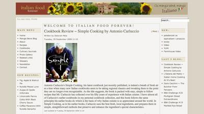Italian Food Blog: Italian Food Forever