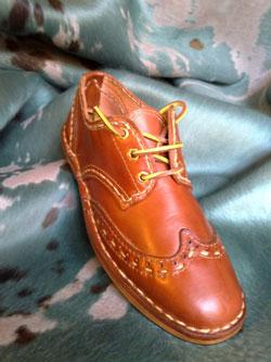 Italian shoemaker shoes from Maremma Tuscany Italy