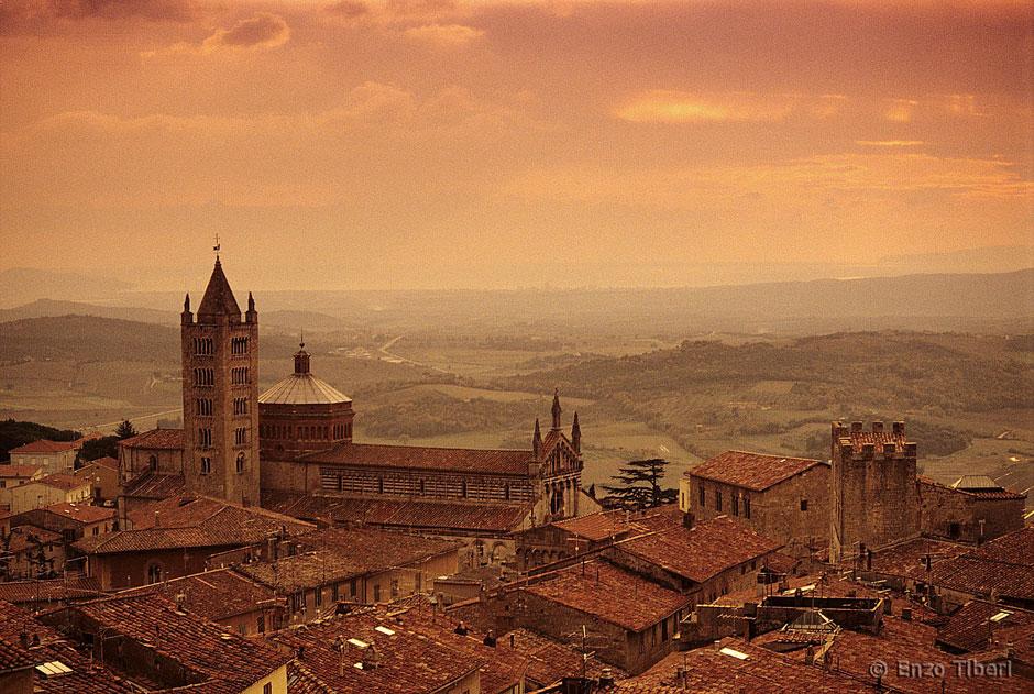 Massa Marittima Tuscany Italy.
