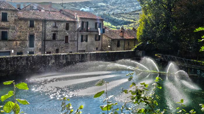 La Peschiera Santa Fiora Tuscany Italy.