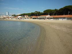 Levante spiaggia Follonica, Maremma Tuscany Italy