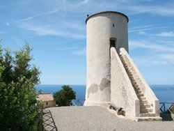 Self catering Tuscany Italy accommodation: The Lookout Tower, Maremma