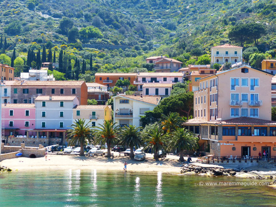 Maremma beach towns and villages: Giglio Porto
