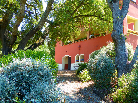 Maremma bed and breakfast in Tuscany.