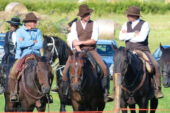 Maremma Cowboys - Butteri Maremmani at the Fiera di Ghirlanda in Maremma in September