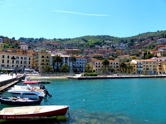 Maremma Tuscany: Porto Santo Stefano, Monte Argentario Italy