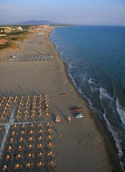 Marina di Grosseto beach Maremma Italy