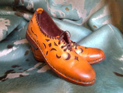 man Italian dress shoes from Maremma Tuscany Italy