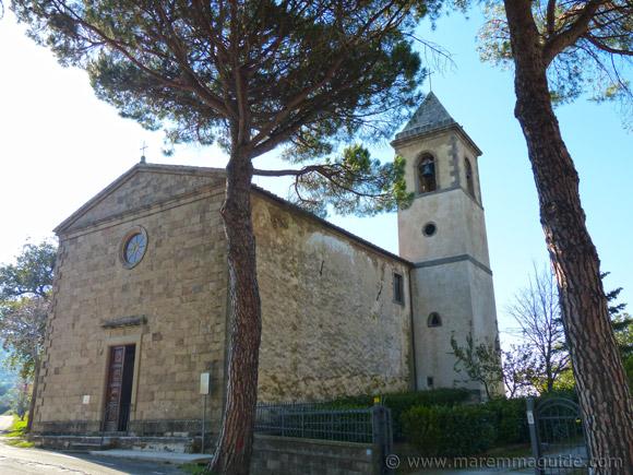 Chiesa della Madonna degli Schiavi Montegiovi.