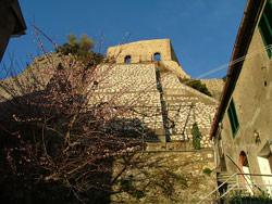 Montemassi: view of Castello di Montemassi