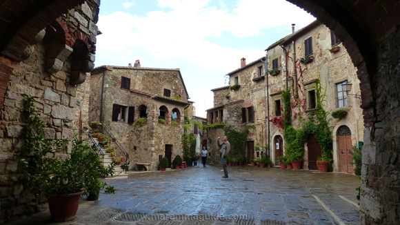 Montemerano Italy in October