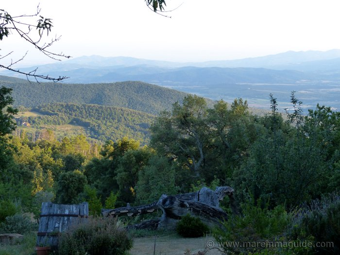 Old Tuscany farmhouse for sale with views