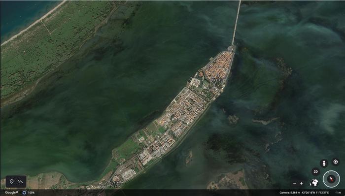 Orbetello Italy: little Venice