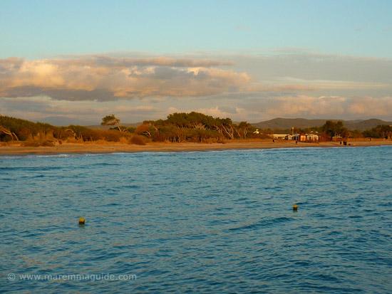 Perelli spiaggia: Riotorto beaches Maremma Tuscany