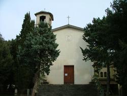 Church of the Madonna del Rosario, Pian D'Alma, Castiglione della Pescaia, Maremma