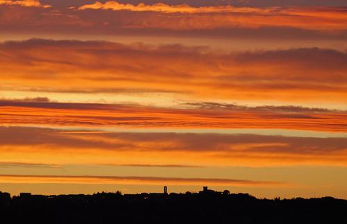 Pictures of Sunrises: sunrise picture of Saturnia, Maremma