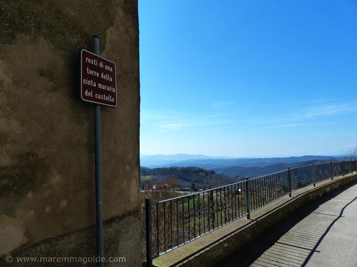 View from Prata, Massa Marittima