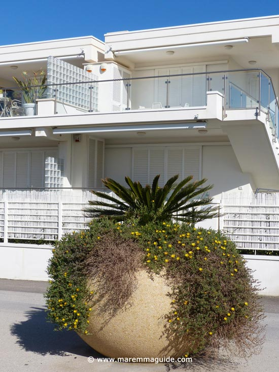 Pratoranieri apartments in Follonica Tuscany self-catering accommodation