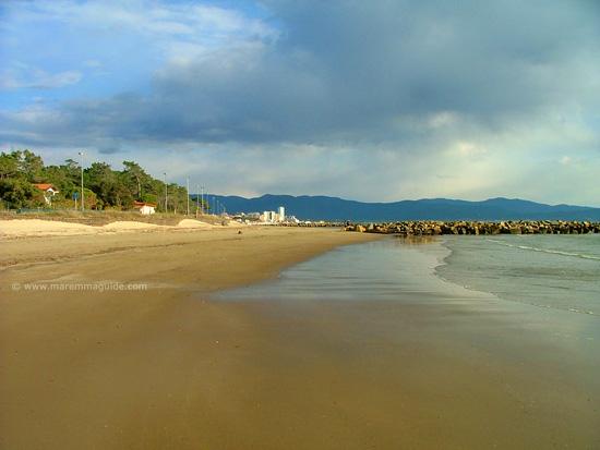 Pratoranieri spiaggia Follonica Maremma Tuscany