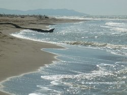 Principina a Mare beach