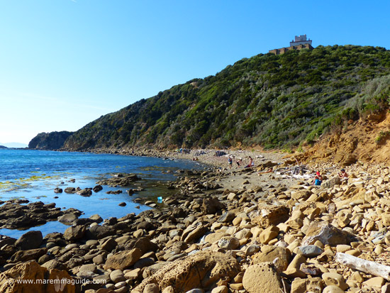 Punta Ala beach: Cala di Castello di Punta Ala Tuscany