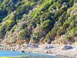 Punta Ala castle beach Tuscany